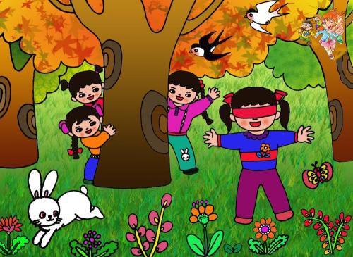 幼儿家中趣事图画作品